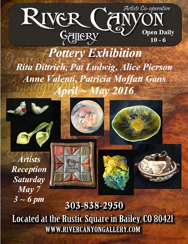 Pottery Exhibition Apr_May '16 Flyer