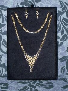 Kim's Necklace, Earrings