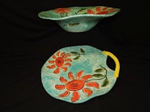 Pat Ludwig Bowl & Platter
